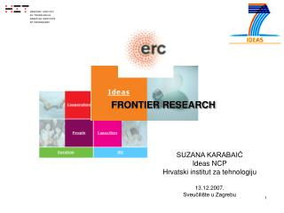 FRONTIER RESEARCH
