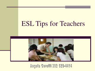 ESL Tips for Teachers