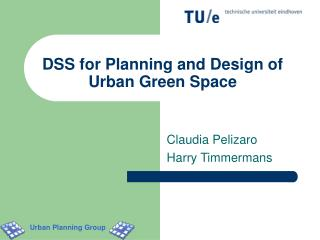 DSS for Planning and Design of Urban Green Space