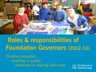Roles & responsibilities of Foundation Governors  (2012-13)