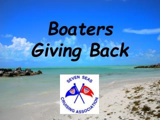 Boaters  Giving Back