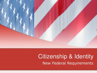 Citizenship & Identity