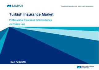 Turkish Insurance Market
