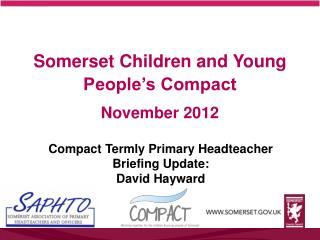 Somerset Children and Young People's Compact November 2012