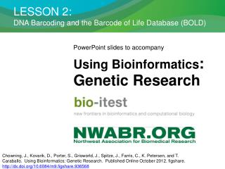 LESSON 2:  DNA Barcoding and the Barcode of Life Database (BOLD)