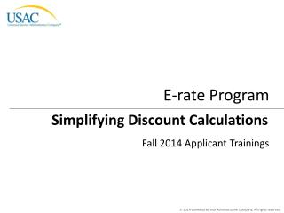 Simplifying Discount Calculations