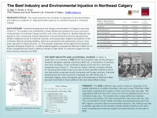 The Beef Industry and Environmental Injustice in Northeast Calgary