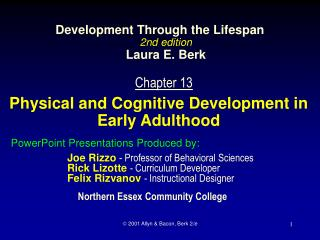 Development Through the Lifespan 2nd edition  Laura E. Berk