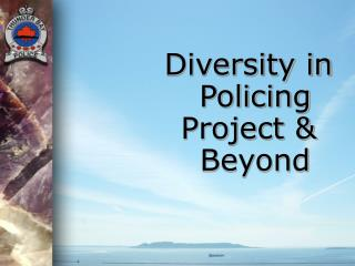 Diversity in Policing Project & Beyond