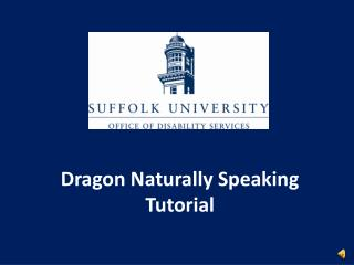 Dragon Naturally Speaking Tutorial