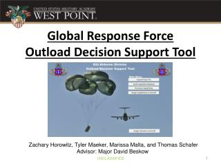 Global Response Force  Outload  Decision Support Tool