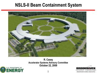 NSLS-II Beam Containment System