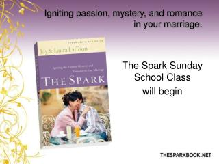 Igniting passion, mystery, and romance in your marriage.