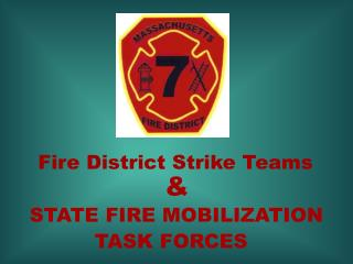 Fire District Strike Teams