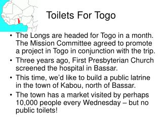 Toilets For Togo