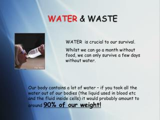 WATER & WASTE