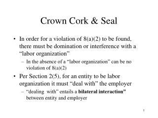 Crown Cork & Seal