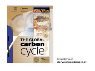 Accessible through globalcarbonproject