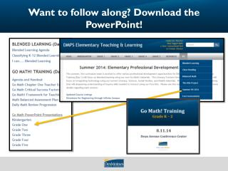 Want to follow along? Download the PowerPoint!