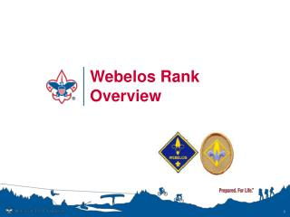 Webelos Rank Overview