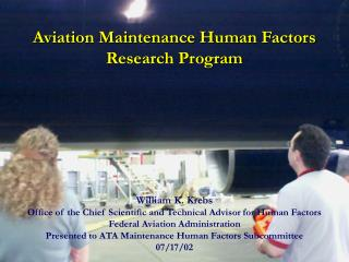 Aviation Maintenance Research Program 2002