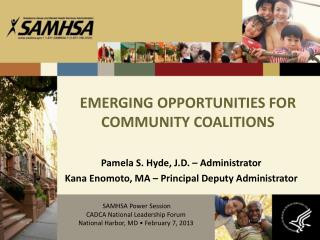 EMERGING OPPORTUNITIES FOR COMMUNITY COALITIONS