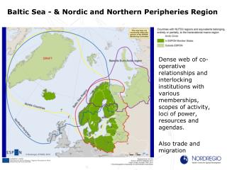 Baltic Sea - & Nordic and Northern Peripheries Region