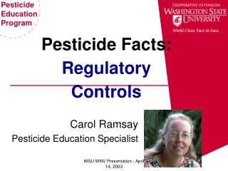 Pesticide Facts: Regulatory Controls