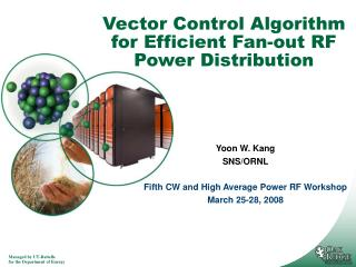 Vector Control Algorithm for Efficient Fan-out RF Power Distribution