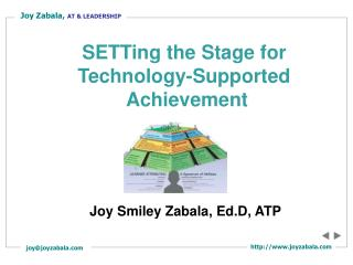 Joy Smiley Zabala, Ed.D, ATP