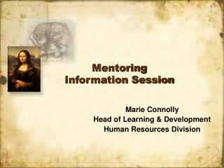 Mentoring  Information Session