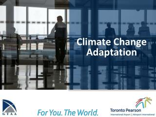 Climate Change Adaptation