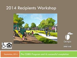 2014 Recipients Workshop