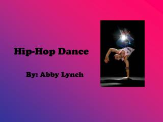 Hip-Hop Dance