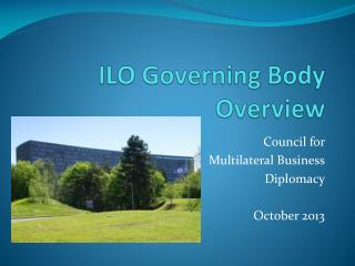 ILO Governing Body Overview