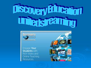 Discovery Education unitedstreaming