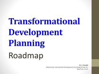 Transformational Development Planning