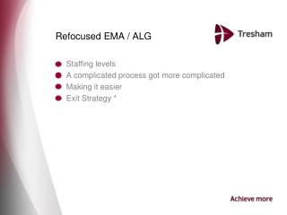 Refocused EMA / ALG