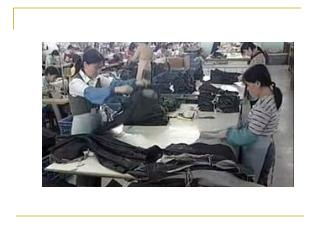 "Apparel Industry:  China ""The Sleeping Dragon"""