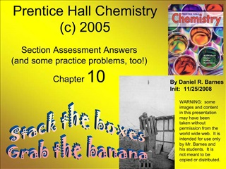 Prentice Hall Chemistry c 2005
