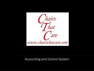 Accounting and Control System