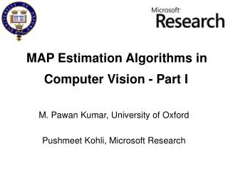 MAP Estimation Algorithms in