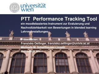 PTT  Performance Tracking Tool