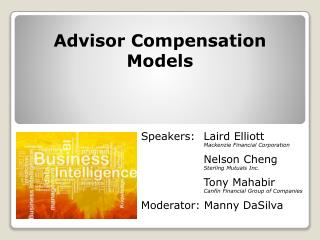 Advisor Compensation Models