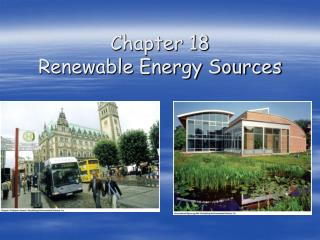 Chapter 18   Renewable Energy Sources