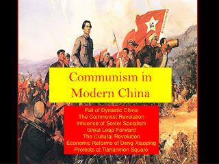 Communism in Modern China