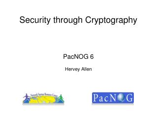 Security through Cryptography