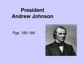 President Andrew Johnson