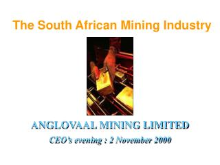 The South African Mining Industry