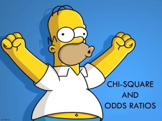 Chi-Square  and  odds ratios